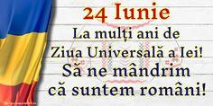 24 Iunie La mulți ani de Ziua Universală a Iei! Să ne mândrim că suntem români! Bullet Journal