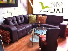 Esquinero Imperio con puf 2.20 * 2.20 $ 1.699.000 Couch, Furniture, Home Decor, Game Room, Empire, Settee, Decoration Home, Sofa, Room Decor