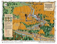 Get a jump start on your experience by viewing this map of Seven Falls. Plan your visit, track your progress, and take it all in!