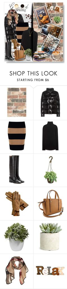 """""""Breakfast Style..."""" by pomy22 ❤ liked on Polyvore featuring Wall Pops!, Balmain, Moncler, Phase Eight, Étoile Isabel Marant, Isabel Marant, LULUS, PLANT, Nearly Natural and Allstate Floral"""