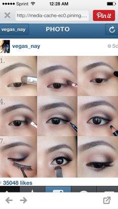 Eyeshadow mini-tutorial
