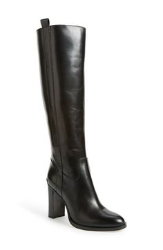 Free shipping and returns on MICHAEL Michael Kors 'Shaw' Tall Boot (Women) at Nordstrom.com. A shapely tall boot fashioned from smooth, burnished leather dials up the downtown-chic appeal of your daily style, while logo-etched hardware flashes at the heel for a signature flourish.
