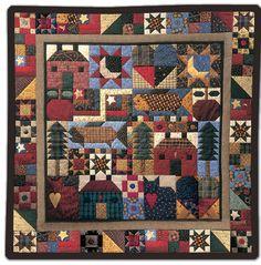 Debbie Mumm: Year Long Sampler Quilt Project 2011