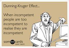 Dunning-Kruger effect - Google Search