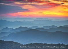 {Natural Beauty} ~ Blue Ridge Mountains, Virginia