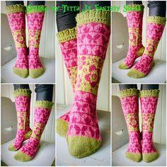 Spring by Titta J's Fantasy Socks