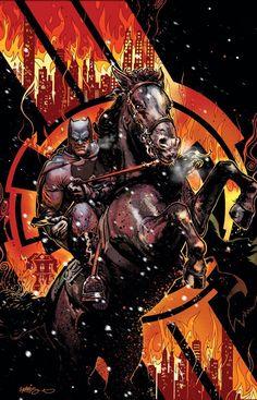 Dark Knight III The Master Race Vol.1 #1 Harris Variant (Cover art by Tony Harris)