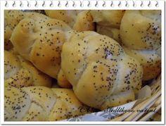 Jedlíkovo vaření: Domácí máslové houstičky z domácí pekárny Potatoes, Bread, Vegetables, Recipes, Food, Potato, Brot, Essen, Eten
