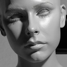 Grey Girl, Jerome Hartman on ArtStation at…