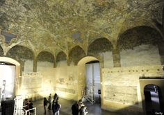 Leonardo Da Vinci Mural Discovered During Restoration Of Milans Sforzesco Castle (PICTURES)