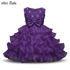online shopping for FantastCostumes Girl's Elegant Lace Ruffle Wedding Princess Dress from top store. See new offer for FantastCostumes Girl's Elegant Lace Ruffle Wedding Princess Dress Little Girl Princess Dresses, Princess Wedding Dresses, Baby Girl Dresses, Wedding Party Dresses, Dress Girl, Party Wedding, Baby Girls, Kid Dresses, Princess Girl