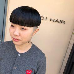 刈り上げ | 東大阪 新石切駅にある美容室[ヘアサロン] YAYOI HAIR Bowl Haircuts, Bob, Short Hair Styles, Hair Cuts, Hairstyles, Instagram, Shaved Nape, Shaving, Bob Styles