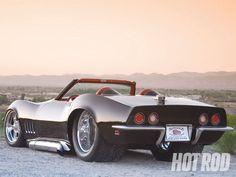 Pro Street 1969 Corvette Convertible