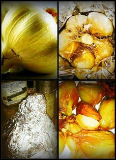 "Mike's Roasted Elephant Garlic! ""If you haven't discovered the flavor of roasted garlic yet, you're in for a pleasant surprise!""  @allthecooks #recipe"