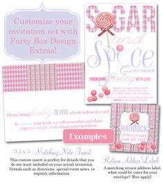Find chic & affordable baby shower invitations & party invitations for baby showers for boys or girls, customized for the mothertobe's special event.