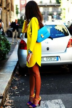 Bright summer dress. - My Fash Avenue