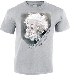 Hello! Check out our new arrivals! Cool tshirts for Cool People! Only from nickcooltshirts! Buy 60 euro of our stuff and get 10% discount! Albert Einstein Imagination Is More Important Than Knowledge E=mc2 Short Sleeve Black T-shirt Maths Cool Geek Nerd Funny Men Top Tee €15.00 https://www.etsy.com/shop/nickcooltshirts?utm_source=outfy&utm_medium=api&utm_campaign=api