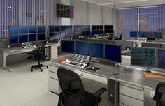 High Tech Office Interior