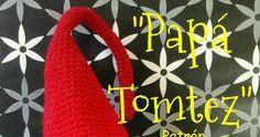 """¡Hola!. Seguimos con los patrones de La familia Tomtez y en ésta ocasión os traigo el patrón de """"Papá Tomtez"""". Es un poco (sólo un poco) ... Christmas Crochet Patterns, Aurora, Angeles, Christmas Decorations, Christmas Ornaments, Crochet Pattern, Amigurumi Patterns, Holiday Ornaments, Angels"""