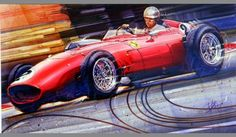 Passion for race cars drives Concours d'Elegance artist Dennis Brown