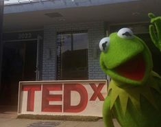Kermit used his friend Jim Henson's words today and did a TED Talk with the theme of creativity and following our dreams.