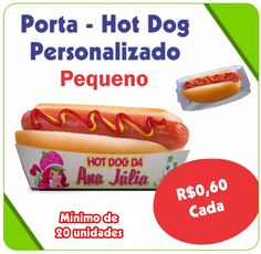 Porta - Hot Dog Personalizado - Pequeno