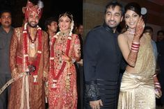Shilpa Shetty and Raj Kundra met at a business meeting. Then Raj was yet to divorce his ex-wife. They started dating and Shilpa felt he is the one. On November 22, 2009 they got married in a big fat Indian wedding. | www.indipin.com #Indipin