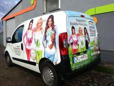 oklejenie całego samochodu - folia wylewana  przez ris reklamy, Kołobrzeg - www.risreklamy.pl