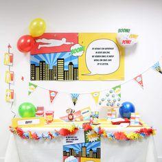 Ultimate Box | Superhelden #kinderfeestje #communie #superhero #partybox #Beaublue