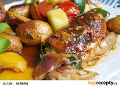Letní kuře z jednoho pekáčku recept - TopRecepty.cz