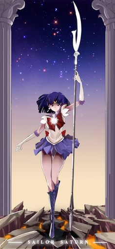 by HoHooTing << Sailor Saturn is still my favorite sailor senshi. :)