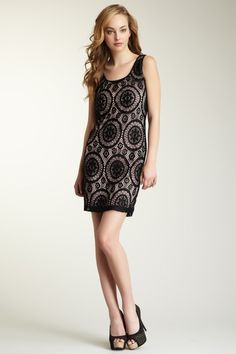 Annalee + Hope Crochet Knit Dress by Black & White: Apparel on @HauteLook