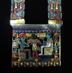 Osiris Pectoral Necklace of Tutankhamun  Vintage
