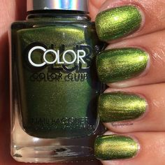 Don't Kale My Vibe by Color Club | Nailpolishpursuit.com