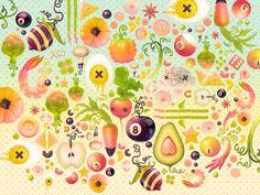 salad desktop wallpaper