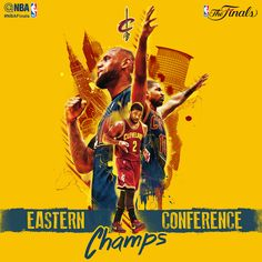 The Cleveland Cavaliers: 2015 Eastern Conference Champions. Next up: the #NBAFinals
