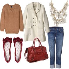perfect saturday afternoon outfit for fall