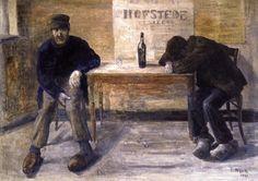 James Ensor,  the Drunkards on ArtStack #james-ensor #art