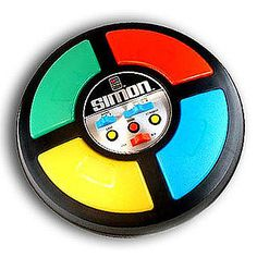 Simon game :) best Christmas gift one year, I loved it!