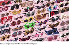 FEATURED !!!! ♥♡♡ NYT Magazine Section May 12th 2013 pages 47 48 49 PUTTING THE SPECTACLE IN SPEACTACLES GOOD ENOUGH FOR GAGA Bobby Doherty Portrait of Mercura NYC Sunglasses & Eyewear Art direct Amy Kellner http://bobbydoherty.tumblr.com/post/50084964271/mercura-sunglasses-shot-for-the-new-york fans of Mercura Sunglasses see the most beautiful shoots ! Bobby Doherty genius clarity in his work!  double page in your NYT Magazine May 12 2013  introductory page photo also  Words by Julie Bosman