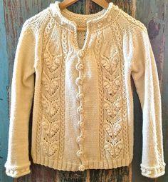 Ravelry: Audrey cardigan pattern by Veronika Lindberg
