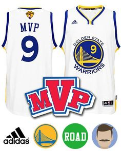 ae602a2150d ... Shop for Mens Adidas Golden State Warriors 9 Andre Iguodala White New Swingman  Road Jersey ...