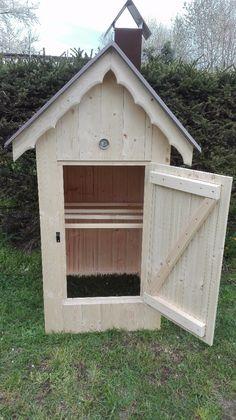 Zahradní dřevěná udírna - obrázek číslo 5
