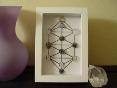 4x6 Tree of Life Desktop Crystal Grid  Clear by aurazencrystals, $35.00