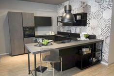Cucina Lube Mod. Oltre Kitchen Cabinets, Interior Design, Table, Claire, Furniture, Condo, Kitchens, Technology, Home Decor
