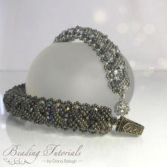 Bead Embroidery Patterns, Beaded Bracelet Patterns, Weaving Patterns, Jewelry Patterns, Beaded Jewelry, Beaded Necklace, Beaded Bracelets, Bead Patterns, Jewelry Ideas