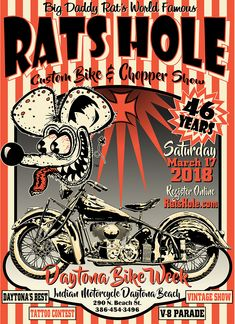 46th Annual Rats Hole Custom Bike and Chopper Show.