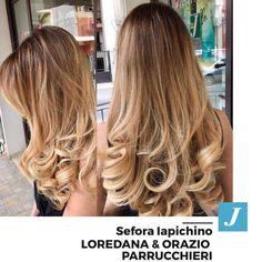 Scegli il meglio per i tuoi capelli. Scegli di indossare il tuo personale Degradé joelle  #cdj #wellaprofessionals #loredanaeorazioparrucchieri #degrade #musthave #ootd #madeinitaly #longhair