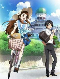 """Glasslip"" - this is the cutest anime!!!"