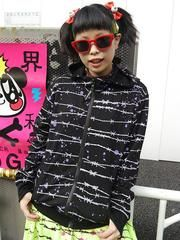 Barbed Wire Pattern ZIP Parka / See more at http://www.cdjapan.co.jp//apparel/new_arrival.html?brand=SLV #harajuku